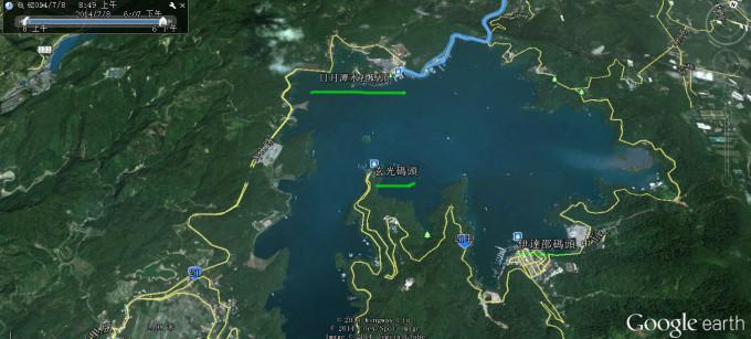 溪口风景名胜区导游全景图