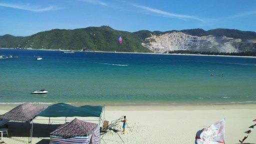 6月18日蜈支洲岛  住 三亚海棠湾百城堡蜈支洲岛店  我们
