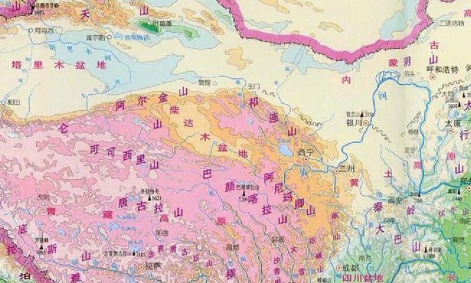 兰州经甘南到汶川地图