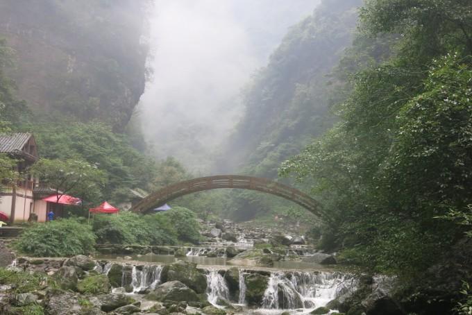 """四季分明,自然生态环境优美,自然风景独特,被誉为""""三峡地区的天然氧吧"""