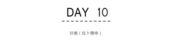 Day10:甘南(拉卜楞寺)